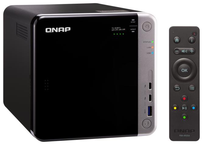 QNAP Сетевое хранилище (NAS) QNAP TS-453BT3-8G