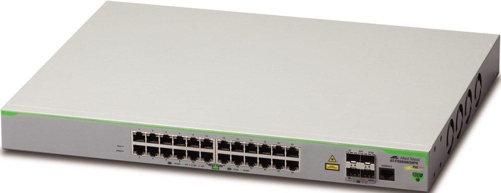Allied Telesis Коммутатор (switch) Allied Telesis AT-FS980M/28PS (AT-FS980M/28PS-50)