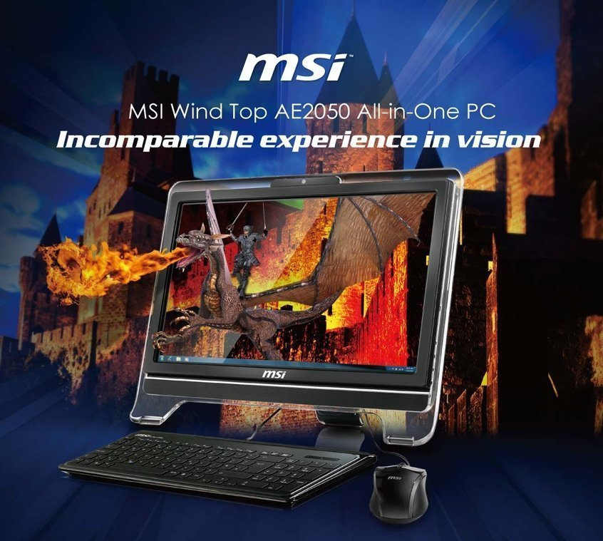Моноблок MSI Wind Top AE2050-086