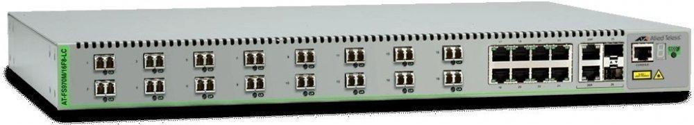 Allied Telesis Коммутатор Allied Telesis AT-FS970M/16F8-LC (AT-FS970M/16F8-LC-50)