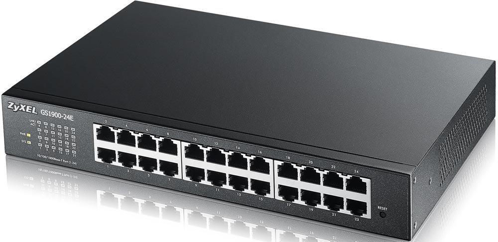 (switch) GS1900-24E Коммутатор (switch) ZyXEL GS1900-24E GS1900-24E