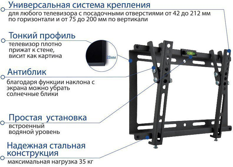 Кронштейн Kromax IDEAL-6 Black
