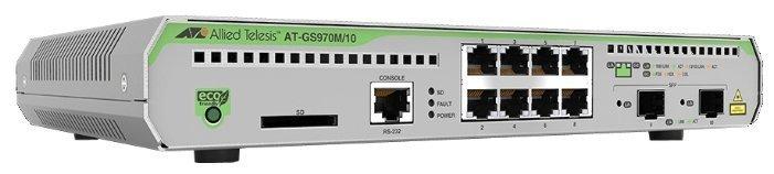 Allied Telesis Коммутатор Allied Telesis AT-GS970M/10 (AT-GS970M/10-50)
