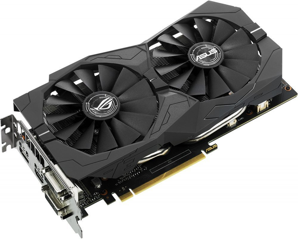 Купить Asus GeForce GTX 1050 Ti ROG STRIX-GTX1050TI-4G-GAMING