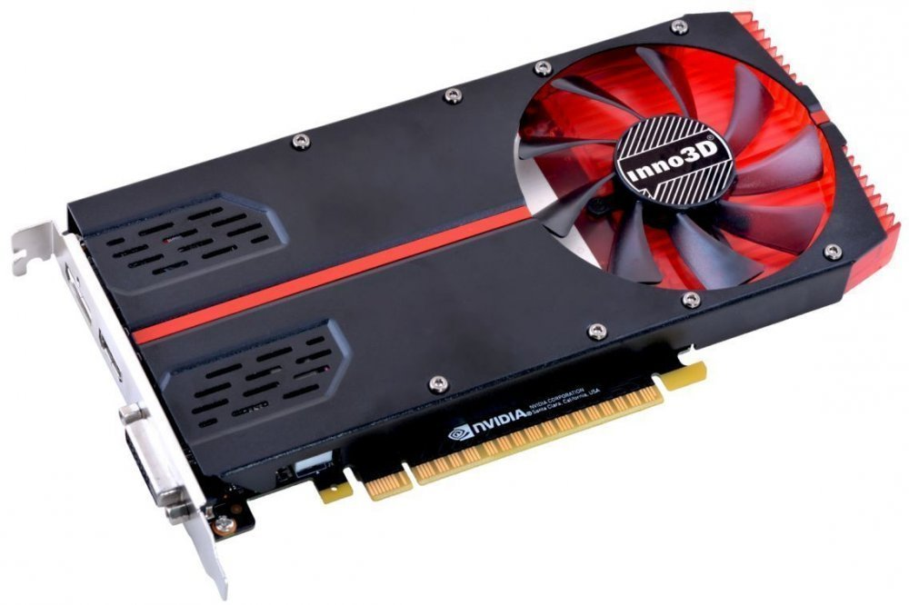 INNO3D GeForce GTX 1050 TI 1-SLOT EDITION – купить видеокарту ... 3866921811af4