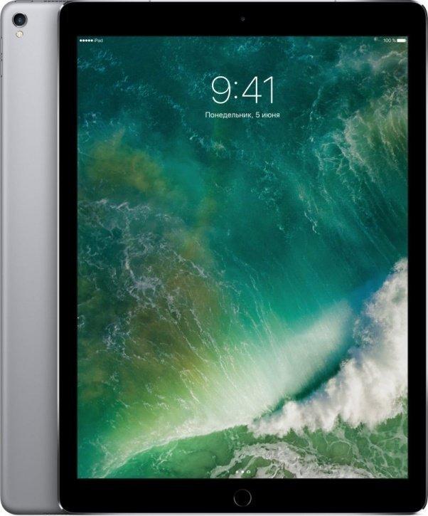 Планшетный компьютер Apple iPad Pro 12.9 256Gb Wi-Fi + Cellular Space Grey (MPA42RU/A) — купить в Москве, цена, характеристики и отзывы, код товара: 189477