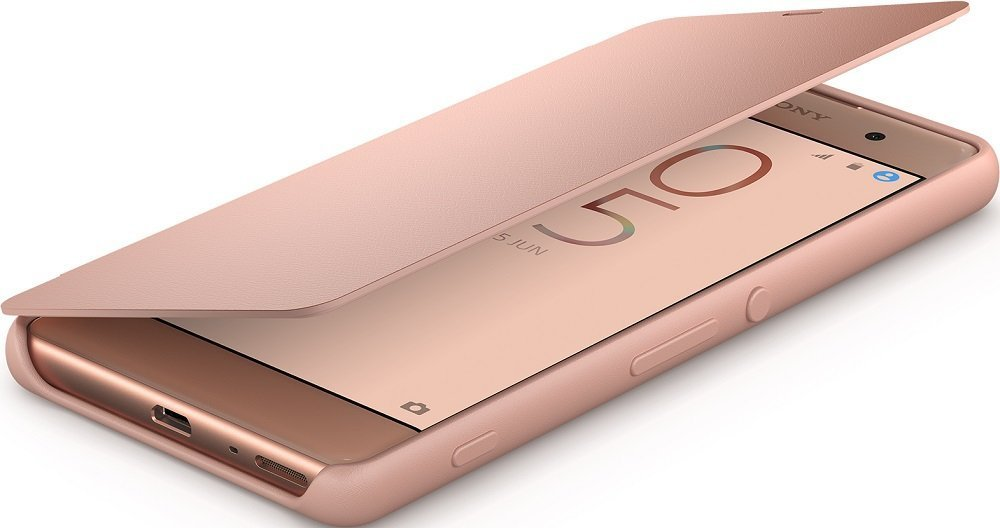 Чехол Sony SCR54 Rose Gold