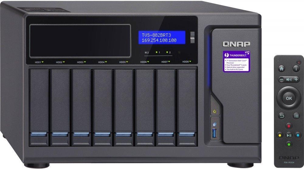QNAP Сетевое хранилище (NAS) QNAP TVS-882BRT3-i7-32G