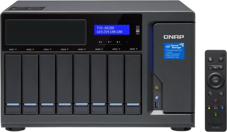 QNAP Сетевое хранилище (NAS) QNAP TVS-882BR-i7-32G