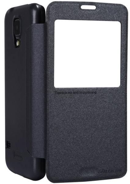 Чехол Nillkin T-N-SG900-011 Sparkle Leather Case для Samsung Galaxy S5 G900 Black