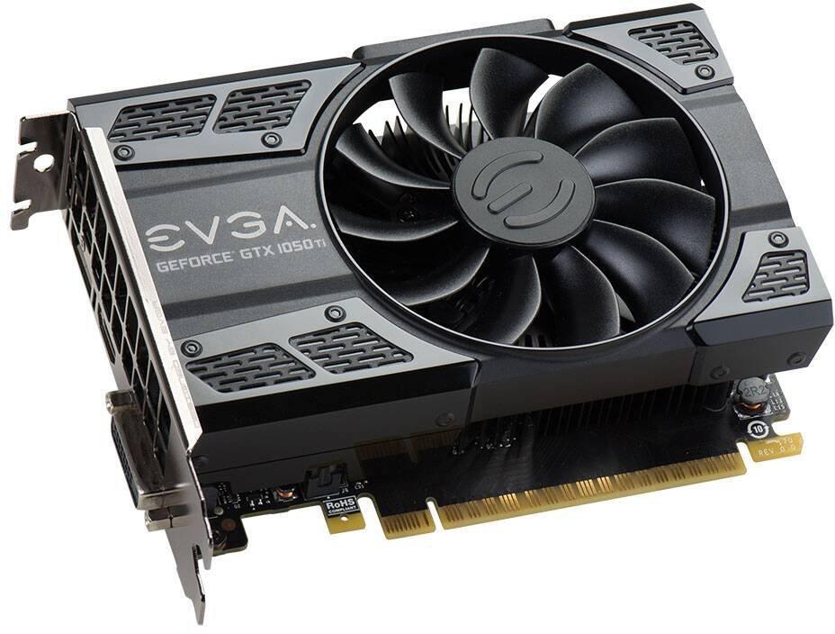 Видеокарта EVGA GeForce GTX 1050 Ti GAMING